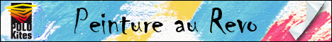 Des peintures faites avec un cerf-volant 4 lignes